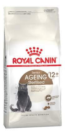Сухой корм для кошек ROYAL CANIN Senior Ageing Sterilised 12+, для пожилых, 2кг