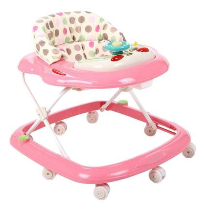 Ходунки детские Capella Bg-0601 розовый-белый