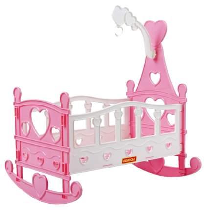 Мебель для кукол Полесье Кроватка-качалка 56665