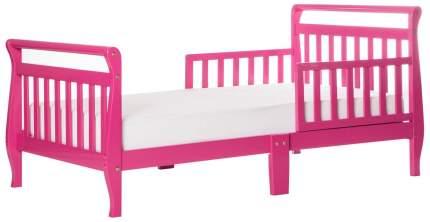 Кровать Dream On Me Sleigh Fuschia Pink