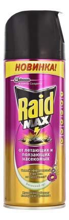 Аэрозоль от насекомых Raid Max весенний луг 300 мл