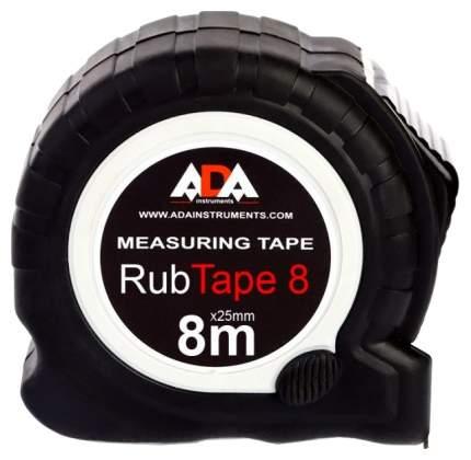 Рулетка ударопрочная ADA RubTape 8