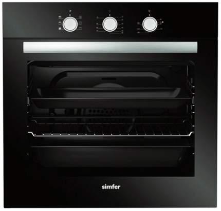 Встраиваемый электрический духовой шкаф Simfer B6ES16011 Black