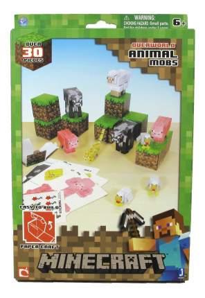 Аппликация из бумаги 1TOY Minecraft. Дружелюбные мобы