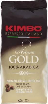 Кофе зерновой Kimbo aroma gold 100% arabica 250 г
