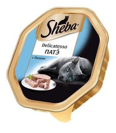 Консервы для кошек Sheba Delicatesso патэ с лососем, 85г