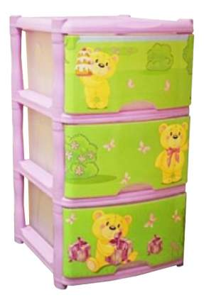 Комод детский Plastic Republic Bears Tutti 3 ящика