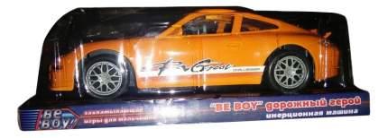 Машинка инерционная BeBoy Дорожный герой Порше оранжевий
