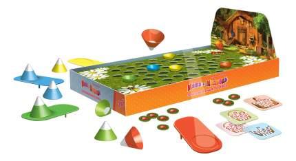 Семейная настольная игра STEP Puzzle Маша и медведь Земляничная поляна