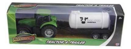 Трактор HTI Трактор с бочкой зеленый