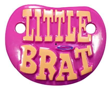 Силиконовая пустышка ортодонтическая Billy Bob Little Brat