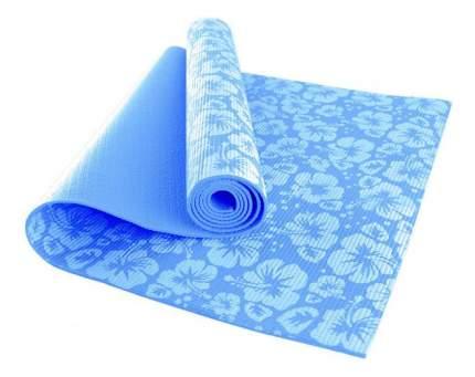 Коврик для йоги Hawk HKEM113-04 синий 4 мм