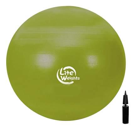 Мяч гимнастический Lite Weights 1866LW, желтый, 65 см