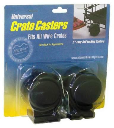 Колеса для клеток Universal Crate Caster универсальные 2 шт