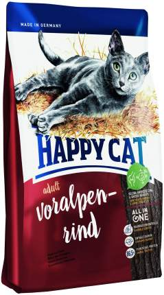 Сухой корм для кошек Happy Cat Fit & Well, альпийская говядина, 10кг