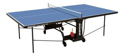 Теннисный стол Donic Indoor Roller 600 синий, с сеткой