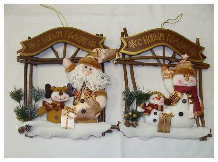 Венок новогодний Девилон Рождественский 28х25 см