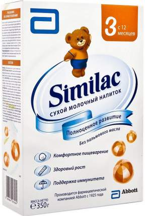 Молочная смесь 3 (от года) Similac 350 г