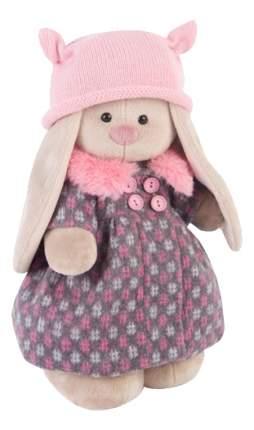 Мягкая игрушка BUDI BASA Зайка Ми в Пальто и Розовой Шапочке 32 см Stm 197