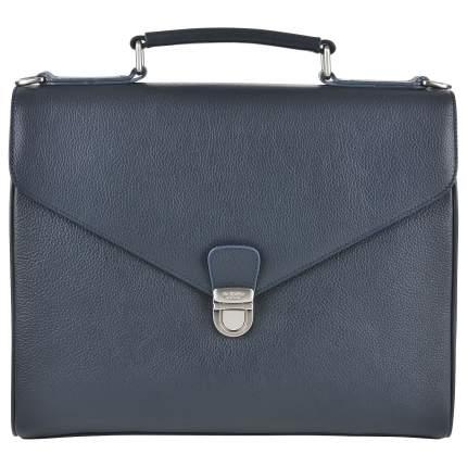 Портфель мужской кожаный Dr. Koffer B402613-220-60 синий