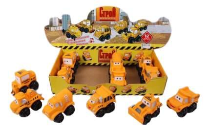 Набор строительных машинок Строй Мобиль 12 шт.