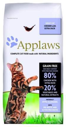 Сухой корм для кошек Applaws, беззерновой, курица, утка, овощи, 2кг