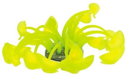 Искусственный коралл искусственный коралл 20см желтый