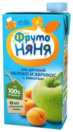 Сок ФрутоНяня Яблоко и абрикос с 3 лет 500 мл
