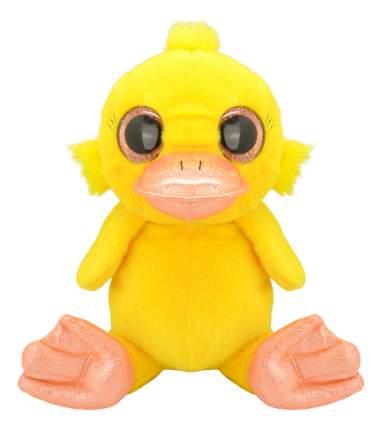 Мягкая игрушка Wild Planet Утенок k7850 15 см желтый