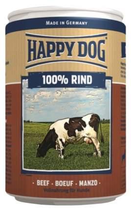 Консервы для собак Happy Dog 100% Rind, говядина, 6шт по 400г