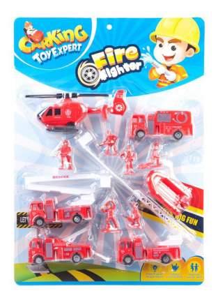 Игровой набор Fire Fighter Пожарная техника с фигурками Gratwest В78570