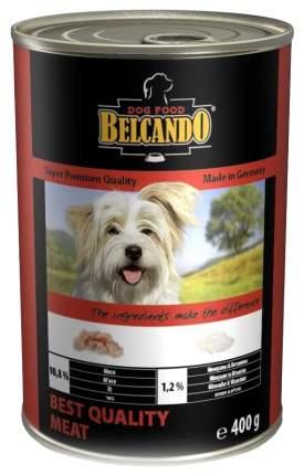 Консервы для собак BELCANDO Finest Selection, мясо, 400г