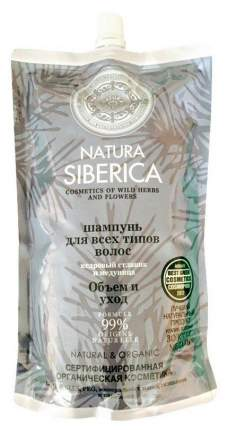 Шампунь Natura Siberica Шампунь для волос Объем и уход дой-пак 500 мл