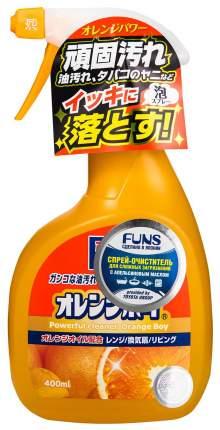 Очиститель Funs orange boy сверхмощный для дома с ароматом апельсина 400 мл
