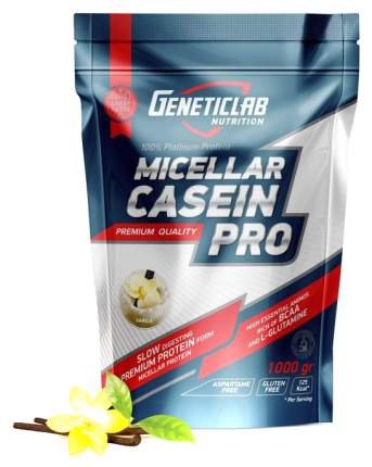 Протеин GeneticLab Nutrition Micellar Casein Pro 1000 г Vanilla