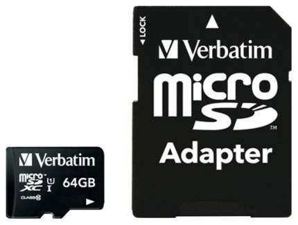 Карта памяти Verbatim Micro SDXC 44084 64GB