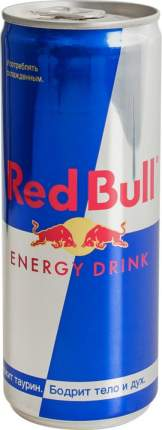 Напиток энергетический Red Bull жестяная банка 0.25 л