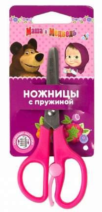 Ножницы с пружиной Маша и Медведь