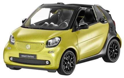Модель Smart Fortwo Cabrio A453 B66960289 Black-to-yellow/Black