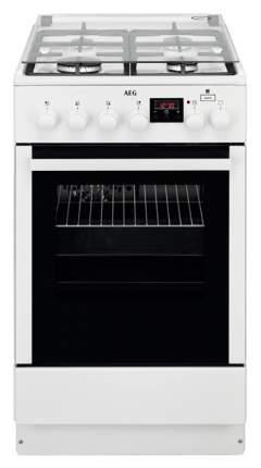 Комбинированная плита AEG CKR56400BW White