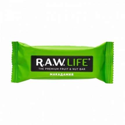 Орехово-фруктовый батончик R.A.W. LIFE макадамия 47 г