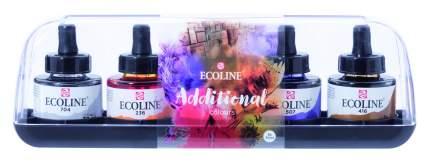 Акварель жидкая Royal Talens Ecoline дополнительные цвета 5 цветов