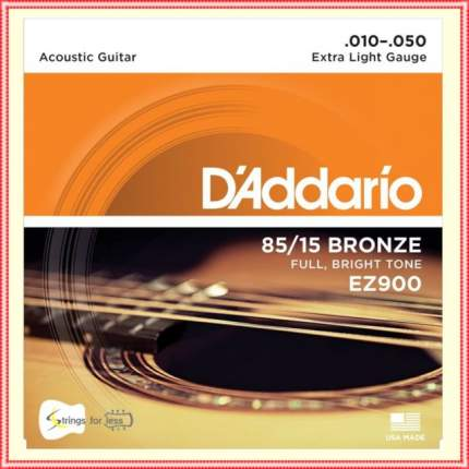 Струны для акустической гитары D ADDARIO EZ900