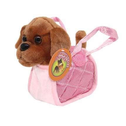 Интерактивное животное Пушистые друзья Собачка в сумочке виляет хвостиком и поет песенку