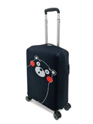 Чехол для чемодана Черный Мишка S (ручная кладь)