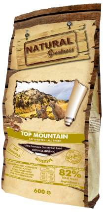 Сухой корм для кошек Natural Greatness Top Mountain, кролик, 600 г