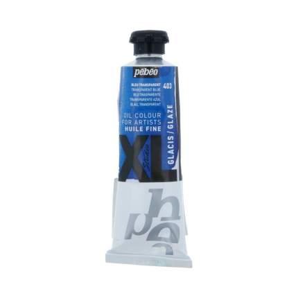 Масляная краска Pebeo XL Glaze синий 37403 37 мл