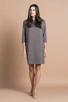 Домашнее платье женское Laete 30312 коричневое 2XL