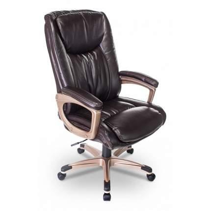 Кресло руководителя Бюрократ T-9914/BROWN BUR_1138051, коричневый