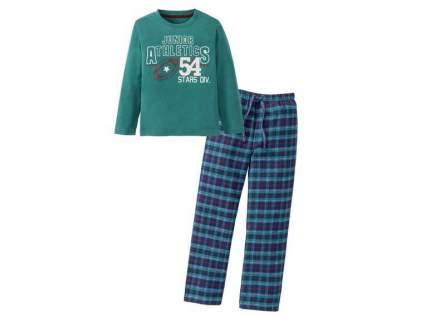 Пижама для мальчика Lupilu зеленая Junior athletics, р.86-92